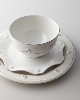 Includes Dinner Plate, Salad Plate, Cereal Bowl and Mug